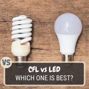 CFL vs LED