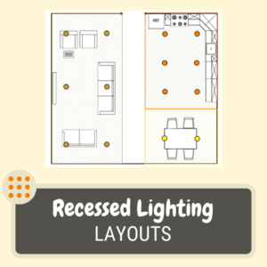 The basics of recessed light layouts
