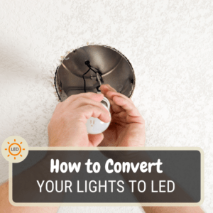 How to convert your lights to LED