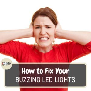 Buzzing led lights
