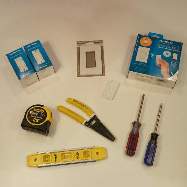 Tools to install wireless dimmer