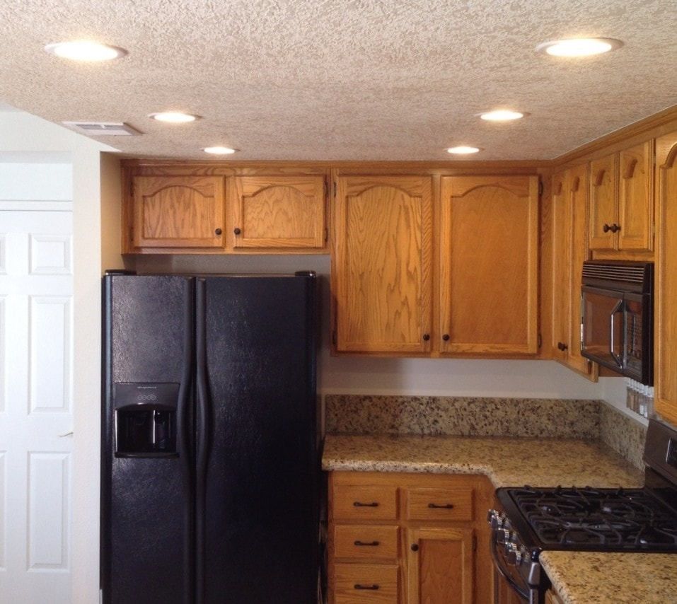 Cool Kitchen Recessed Lighting Design Ideas: How To Update Old Kitchen Lights