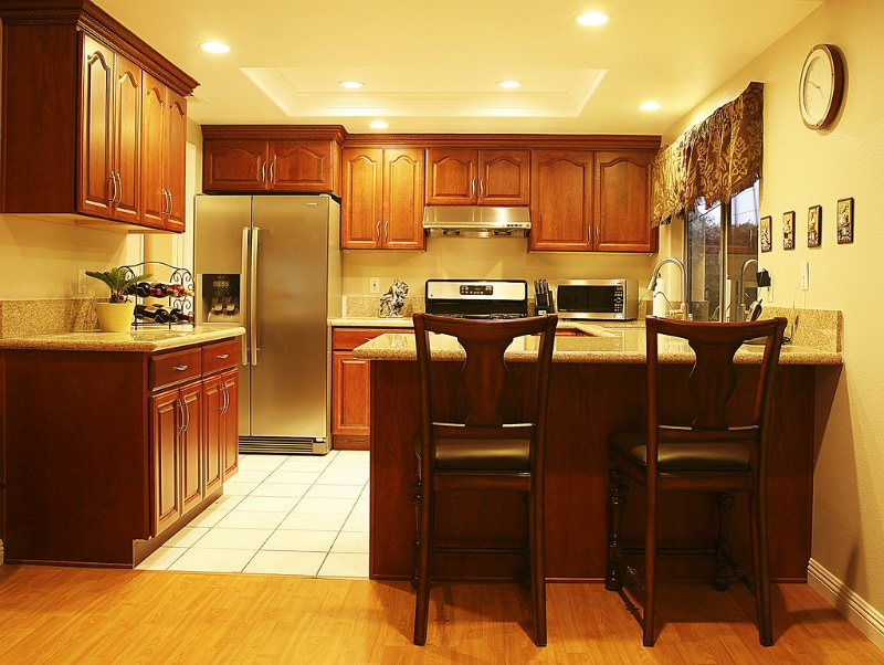 Kitchen Soffit Lighting With Recessed Lights The