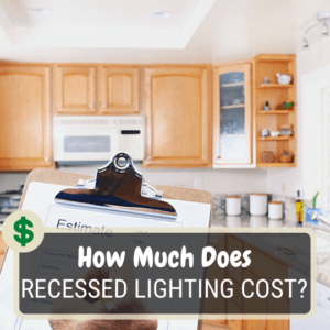 How much does recessed lighting cost?