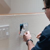 DIY Recessed Light switch install